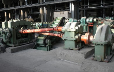 skew rolling machine